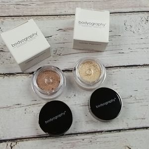 Two Bodyography Glitter Pigments